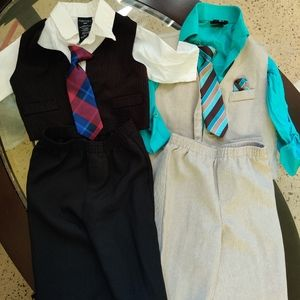 2 baby boy suits